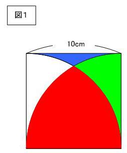 形 の 面積 おう ぎ