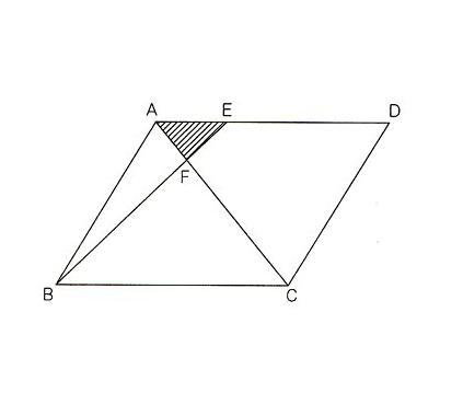 ... 面積比の求め方: 算数解法の